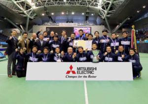 題33回日本テニスリーグ2019 決勝