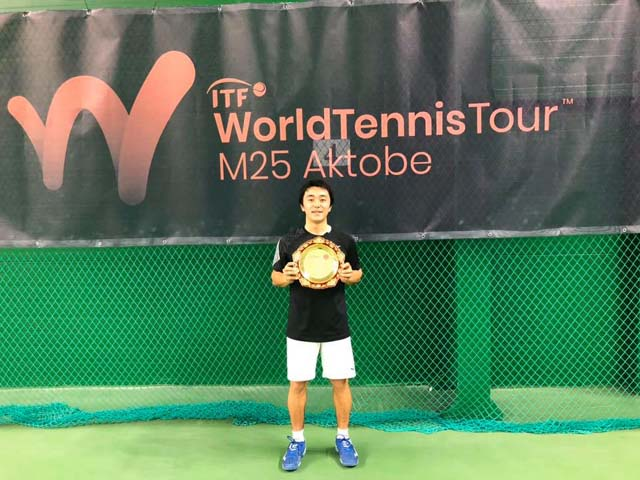 M25 AKTOBE ITF International tournament(カザフスタン)🏆⑧