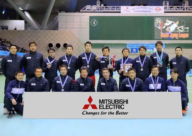 テニス日本リーグ中止( ノД`)